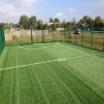 Synthetic Sport Surface Installation in Conwy 3