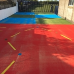 Synthetic Sport Surface Installation in Houton 9