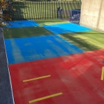 EPDM Rubber Sport Flooring in Monmore Green 7