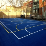 Synthetic Sport Surface Installation in Abbey Yard 8