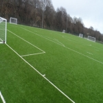 Synthetic Sport Surface Installation in Abbey Yard 12