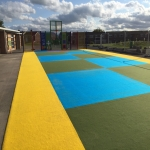 EPDM Rubber Sport Flooring in Monmore Green 10