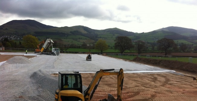 All Weather Pitch Construction in Conwy