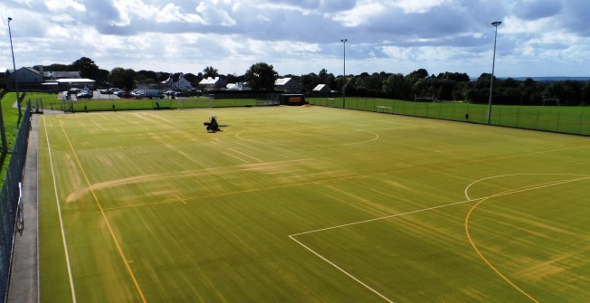 Sport Surfacing Repairs in Abbess End