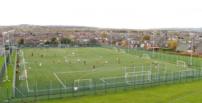 MUGA Facility Contractors in Conwy