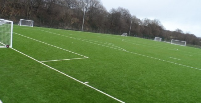 Artificial Turf Field in Glan-y-nant