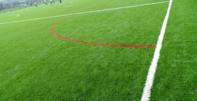 Synthetic 3G Grass Designs in Glan-y-nant