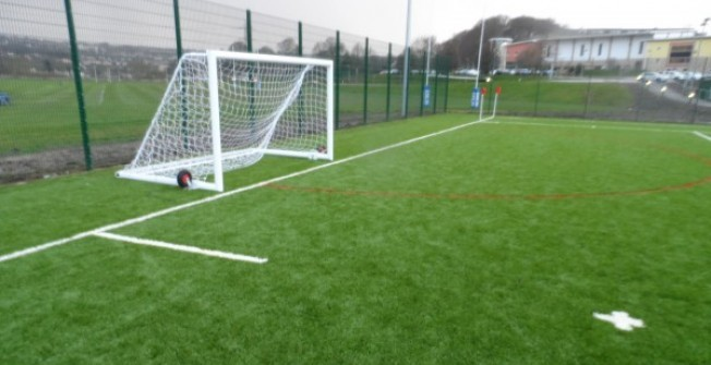 Installing 4G Courts in Fermanagh