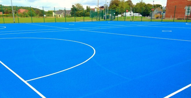 Netball Court Dimensions in Highland