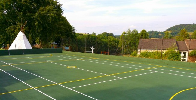MUGA Netball Facilities in Acharn