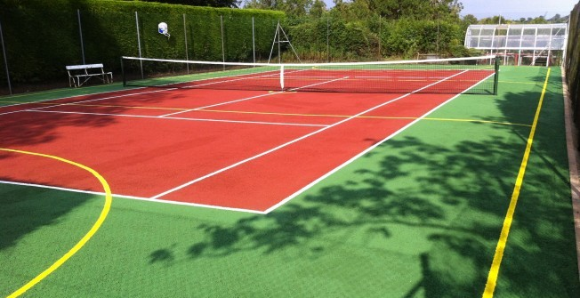 Tennis court dimensions for Sport court paint