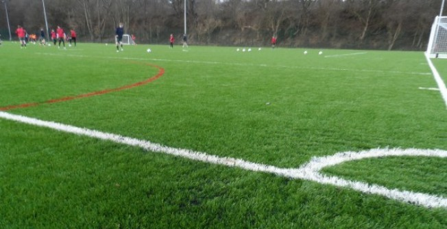 All Weather Pitch Surfacing in Field Common