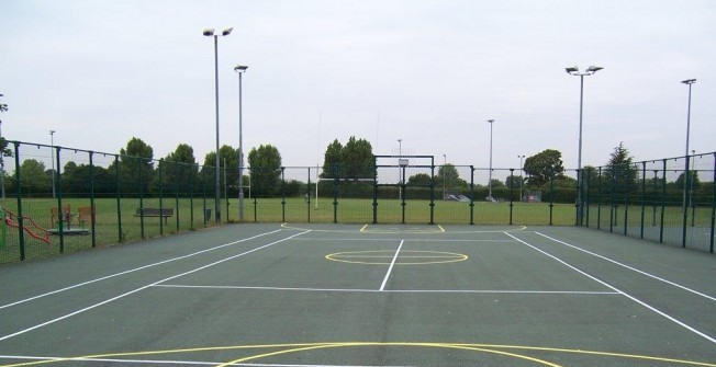 MUGA Court Dimensions in North Lanarkshire
